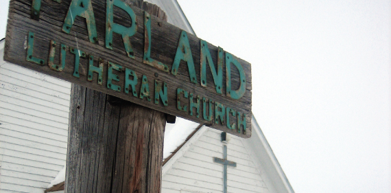 Church in Farland, ND